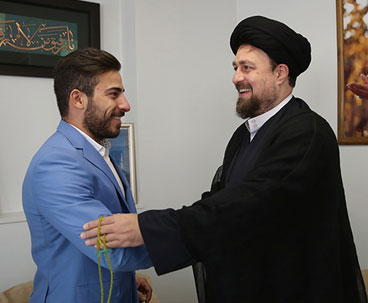Hassan Khomeini lauds Olympic weightlifter
