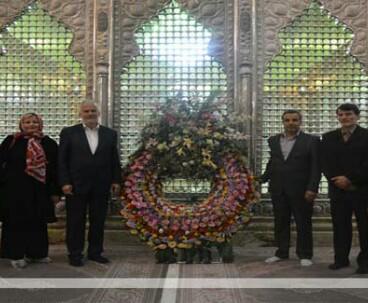 Austrian delegation visits Imam Khomeini's shrine
