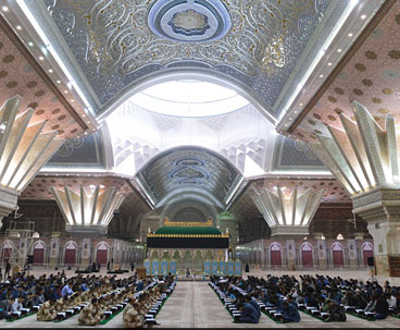 Imam Khomeini mausoleum hosts Quranic session