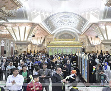 Celebrations on birthday anniversary of Hazrat Fatima Zahra