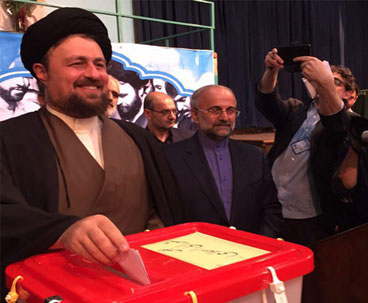 Seyyed Hassan Khomeini hopes massive turnout at polls