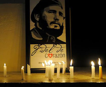People mourn Cuban revolutionary leader Fidel Castro