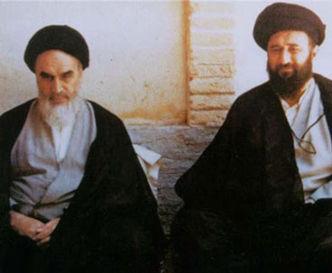 Mostafa Khomeini stood shoulder to shoulder with Imam