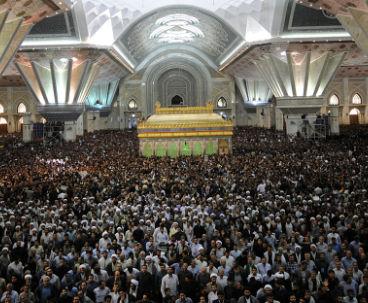 Millions mourn passing of Imam Khomeini