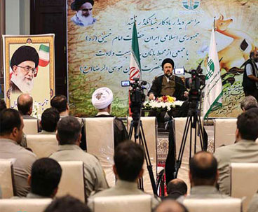 Public's deep love for Imam Khomeini boosts unity, security