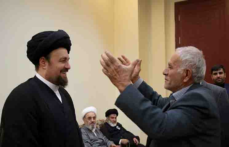 Members of coordinative delegation for Afghan religious community meet seyyed  Hassan Khomeini