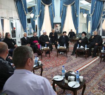 Croatian religious leaders meet Hassan Khomeini