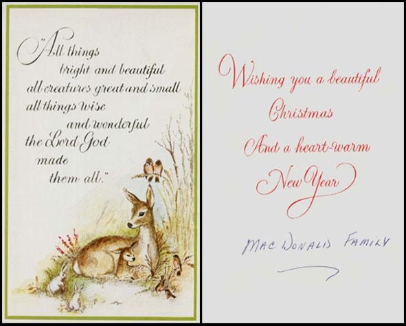 Wishing a beautiful Christmas