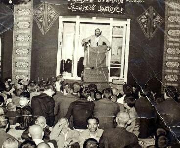 Kafi used to hail Imam Khomeini