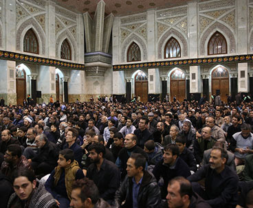 Arba'een rituals held at Imam Khomeini's shrine