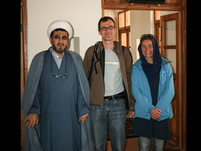 German tourists visit Imam Khomeini`s historic house in Khomein