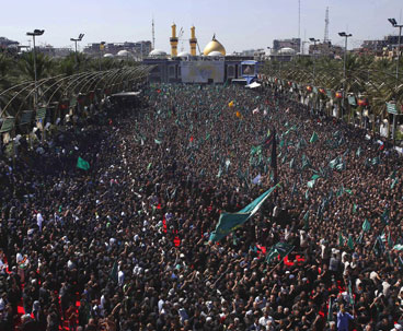 Millions of Muslim mourners mark Ashura