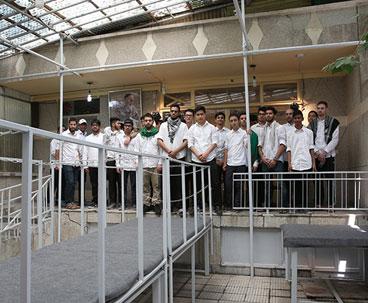 London students visit Imam Khomeini historic house