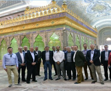 German delegation visits Imam Khomeini mausoleum