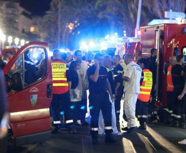 Terrorist attack leaves 84 dead in France