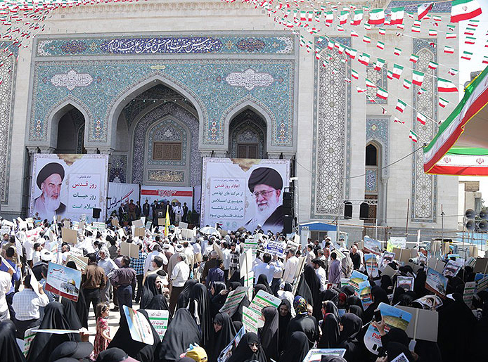 Millions of Iranians rally to mark Int`l Quds Day