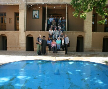 German tourists visit Imam's residence in Khomein