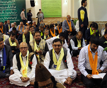 Foreign guests pay pilgrimage to Imam Rida holy shrine
