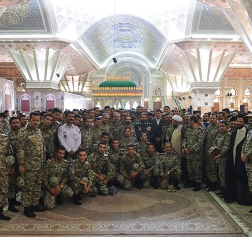 Air force officials pledge allegiance to Imam Khomeini's Ideals