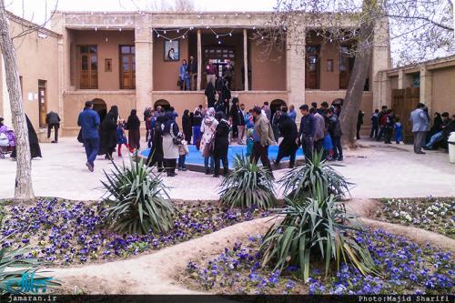 Pilgrims visit Imam Khomeini's historic residence