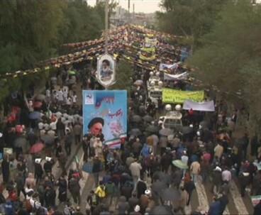 Millions stage rallies to mark Revolution anniversary