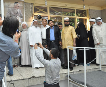 100s of foreign guests visit to Imam's historic residence