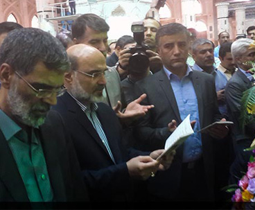 IRIB chief, staff pledge allegiance to Imam Ideals
