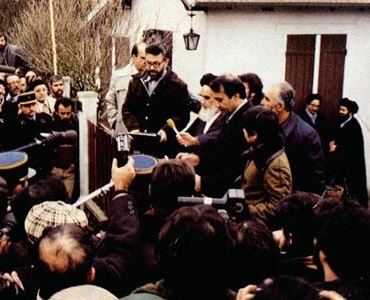 Imam Khomeini thanked French people for hospitability