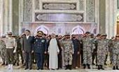 Commanders and officials of Iran`s Khatam al-Anbiya Air Defense Base pledge allegiance to Imam Khomeini's ideals
