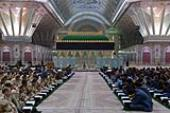 Reciting Quran session held in Imam Khomeini`s Shrine