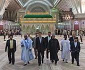 Mohammed Sanusi Barkindo, Secretary General of OPEC pays tribute to Imam Khomeini