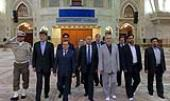 Imam Khomeini mausoleum visited by the Algerian minister of energy