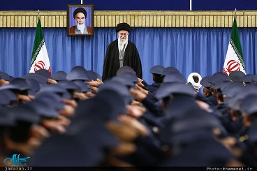 Iranian forces allegiance to Imam, a guiding star