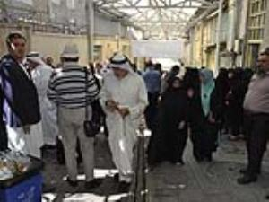 International guests visiting Imam's simply-built residence in Jamaran Art and Cultural Complex