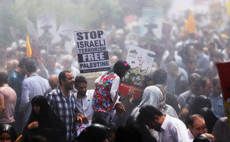 Islamic Ummah displaying unity during massive rallies on International Quds Day