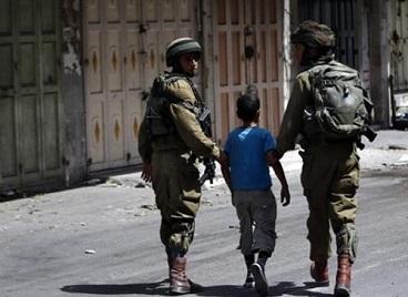 Israeli forces arrested more than 300 Palestine kids