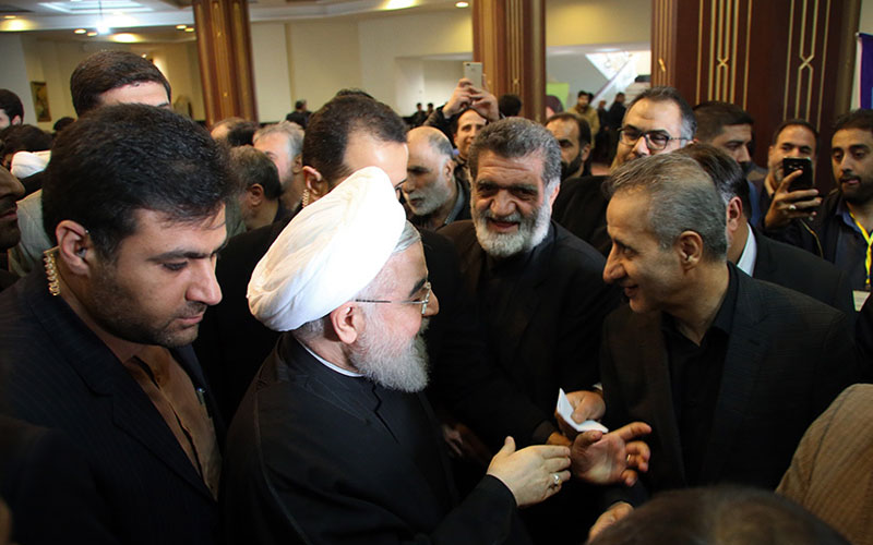 Mourning ceremony to mark 40th day since passing away of Ayatollah Rasfanjani'