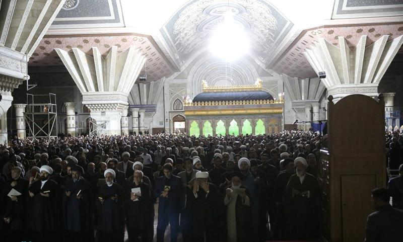 Spiritual ceremonies of Laylat al-Qadr at Imam Khomeini`s holy mausoleum
