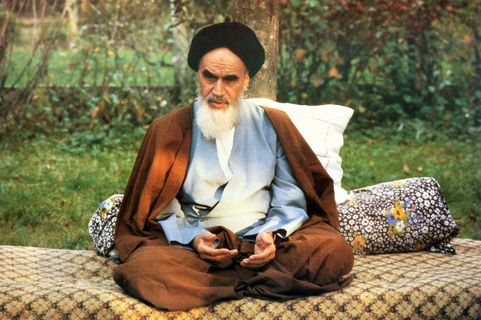 A collection of Imam Khomeini`s Portraits