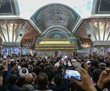 Ayatollah Rafsanjani laid to rest at Imam's mausoleum