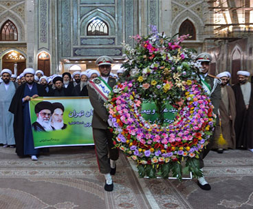 Seminary lecturers pledge allegiance with Imam Khomeini`s ideals