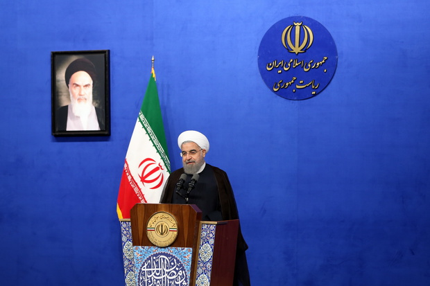 President stresses paving path of Imam Khomeini