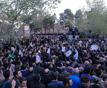 Iranians bid farewell to Ayatollah Rafsanjani