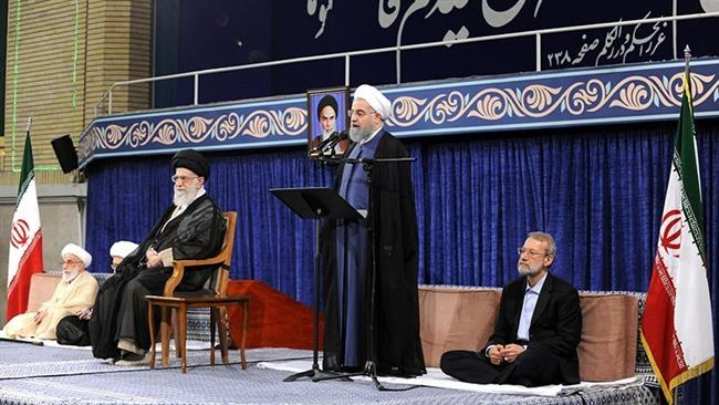 Leader formally endorses Rouhani as Iran president