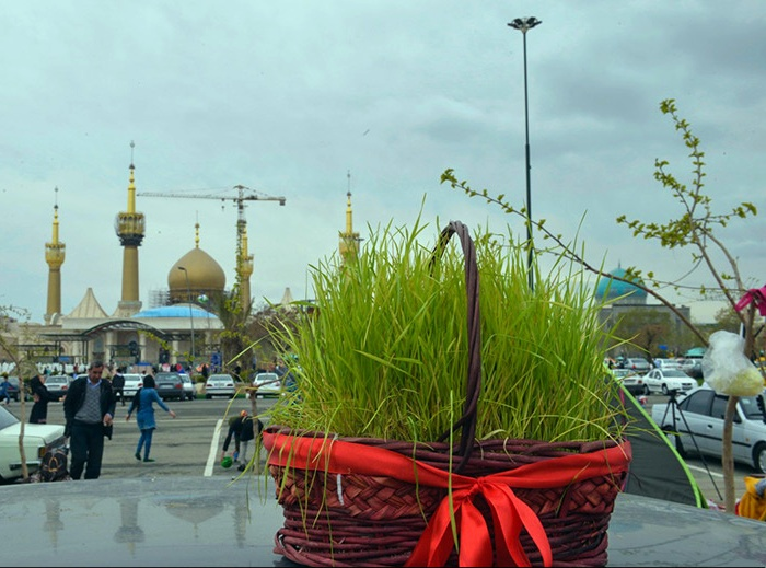Nature Day at Imam Khomeini`s Mausoleum