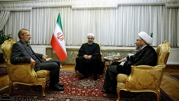 President  Rouhani says Iran capable of responding to any regional crisis