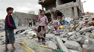 UN report say Saudi strikes killed 500 Yemeni kids