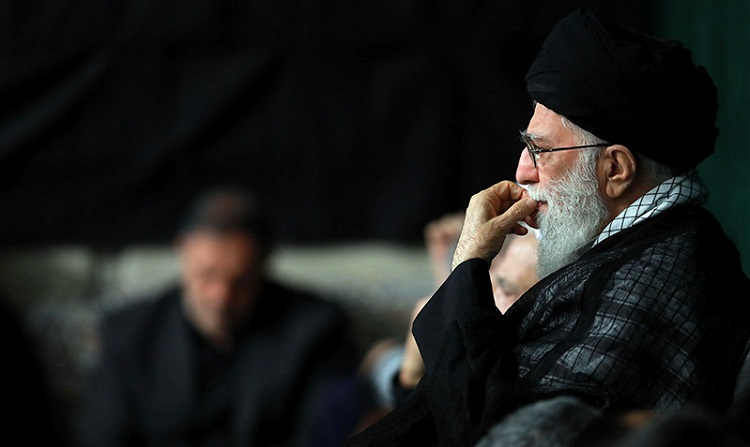 Muharram's mourning ceremony at Imam Khomeini's Hosseiniah with presence of supreme leader