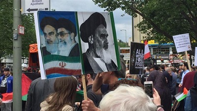 International Quds Day march held in Germany