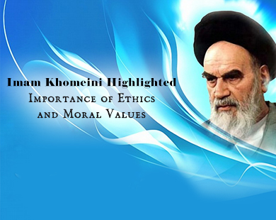 Imam Khomeini's stressed moral approaches
